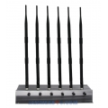 CT-2060H EUR 6 Antennas 56W GSM 2G 3G 4G 2.4 Wi-Fi Jammer up to 80m