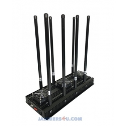 CT-3080N EUR High Power 175W 8 Bands GSM 2G 3G 4G 2.4Ghz VHF UHF RC GPS Jammer up to 150m
