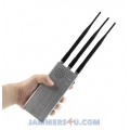 CT-1033 R 10W 3 Bands Remote Controls Jammer 315Mhz 433Mhz 868Mhz up to 30-100m