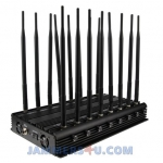 CT-2516N A All 16 Bands 37W GSM CDAM 3G 4G 2.4Ghz 5Ghz GPS UHF VHF Jammer up to 50m