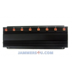 CT-2085 A WIFI 2.4Ghz 5Ghz WiMax GSM Cell 2G 3G 4G WiMax 8 bands 17W Jammer up to 50m