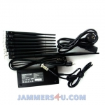 CT-2085 EUR 2.4Ghz 5Ghz GSM 3G 4G 18W 8 Bands Jammer up to 50m