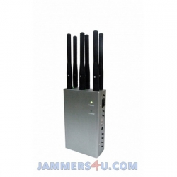 CT-1066 EUR 6 Antennas 2.9W GSM 2G 3G 4G LTE 4G Low WIFI 2.4GHz Jammer up to 20m