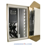 CT-2085H EUR 8 Antennas 8-10W per band 60W Mobile 3G 4G WiFi 2.4Ghz 5Ghz 11a/b/gn Jammer up to 80m