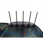 CT-3077B EUR 7 Bands 175W GSM 2G 3G 4G 2.4Ghz WIFI GPS Portable Jammer up to 150m