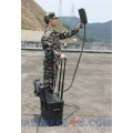 Drone UAV 132-155W Portable Jammer 2.4Ghz 5.8Ghz GPS up to 1500m