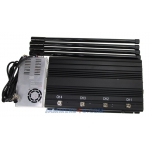 150W Remote Control Jammer 315Mhz 433Mhz 868Mhz up to 800m