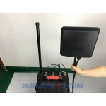 Manpack Directional Anti Drone UAV RC portable Jammer 104-110W up to 1500m