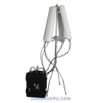 2.4Ghz 5Gz Wireless Network Jammer 160W up to 5km