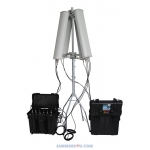 RC Drone Portable Jammer 6-7 Band 128-190W up to 3km