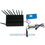 CT-2016 EUR RG 42W 16 Antennas GSM 3G 4G WIFI RC Lojack GPS L1-5 jammer up to 50m
