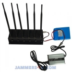 CT-2060 R 6 Antennas 16W GPS L1 L2 Lojack Remote Controls 868 315 433Mhz Jammer up to 50m