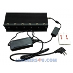 CT-2085 EUR WIFI 2.4Ghz 5Ghz GSM CDMA 2G 3G 4G 18W 8 Bands Jammer up to 50m