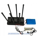 CT-3060N A High power 130W 2.4Ghz CELL CDMA 2G 3G 4G 6 Antenna Jammer up to 150m