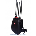 CT-4035 Man Pack CDMA GMS 2G 3G WIFI GPS 5 Antennas 75W Jammer with Built-in Battery. Jamming up to 100m
