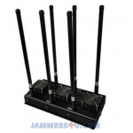 CT-3060N-UAV Drone RC 6 bands 127W 433Mhz 868Mhz 2.4Ghz 912Mhz 5.8Ghz GPS L1 Jammer up to 600m