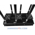 CT-3060N-UAV Drone 6 bands RC 433Mhz 900Mhz 2.4Ghz 5.8Ghz GPS L1 L2 High Power 127W Jammer up to 800m