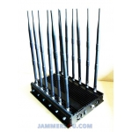 CT-2090 A RG 12 Antennas 32W CDMA 2G 3G 4GLTE 4GWiMax WiFi RC 433 315 868Mhz GPS L1 L2 Lojack JAMMER up to 50m