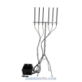 Drone Jammer 147-180W Outdoor 6 band 2.4 5.8Ghz 433 900Mhz GPS up to 1500m