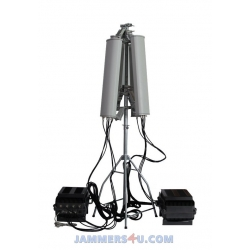 CT-N3076-HGA Anti-Drone UAV GPS WIFI 5Ghz 6-7 Bands Jammer up to 3000m