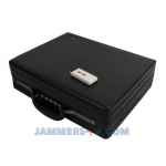CT-2085B A 8 Antennas WiFi 5Ghz 3.5Ghz Wimax 2.4Ghz CDMA 2G 3G 4G Cell Briefcase Jammer up to 50m
