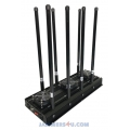 CT-3085N A High Power 134W 8 Antennas GSM 2G 3G 4G 2.4Ghz 5Ghz Jammer up to 150m