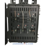 CT-6060 High Power 600W 6 bands Portable Pelican Case Jammer up to 1000m