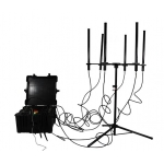 DDSCT-8028 Portable Convoy Pelican 8 bands 590W RCIED Bomb Jammer up to 1km
