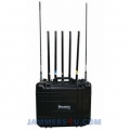 CT-3077B CAR 7 Bands 155W GPS L1 L2 RC 900 868 433 315Mhz UHF VHF WIFI Jammer up to 150m