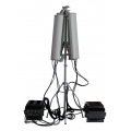 Outdoor Drone RC Jammer HGA Antenna 128-190W 6-7 Band up to 3km