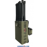 10 Antenna 10W Jammer 3G 4G GPS RC WIFI up to 30m