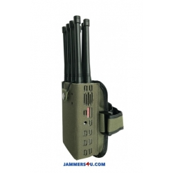 8 Antenna 8W Jammer 3G 4G GPS RC WIFI up to 30m