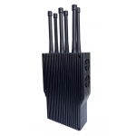 6 Antenna high power 30-45W handheld All-RC Jammer up to 600m