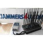 16 Antenna 5G 4G 2.4Ghz 5Ghz GPS RC UHF VHF 124W Jammer up to 80m