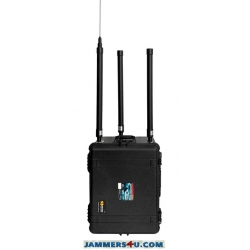 ✅ Portable EOD Anti RC Bomb IEDs 600W 12 Bands 20MHz to 6GHz Jammer up to 300m