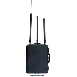 ✅ Portable Anti RC Bomb IEDs 12 Bands 1050W 20MHz to 6GHz Jammer up to 500m