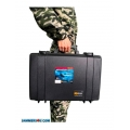 Anti-Drone portable pelican case 3 bands 95W Jammer up to 1200m