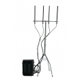Outdoor Drone RC Jammer 325W 4 Bands Software control power level up to 4km