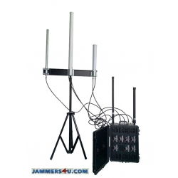 Ant Drone UAV Portable Jammer 8 bands 640W up to 6000m