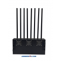 ✅ Pitchfork 8 Antenna 70W Cell Mobile 5G WIFI 5Ghz Jammer up to 80m