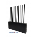 ✅ Pitchfork 10 Bands 90W Cell Mobile 5G WIFI 5Ghz GPS Jammer up to 80m