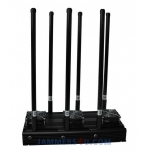 6 Antenna 135W Jammer 3G 4G WiFi up to 150m