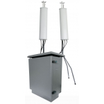 ✅ Up to 8 Bands 800W Outdoor Jammer with PLC Intelligent Monitor Software up to 1km