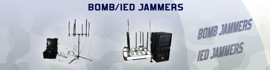 Bomb IED jammers